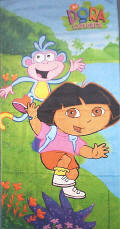 Dora the Explorer Towels Beach and Bath