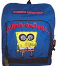spongebob backpacks, backpack, wallet, wallets, bags, bag, school bag, schoolbag, lunchbag, lunch, lunchbox