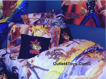 Yu-Gi-Oh Bedding and Bedroom Decorations Comforters, Sheets, Blankets, Bed skirts, Pillowcase, Pillow, Throw Pillows, Valance, Drapes and more accessories Yu-Gi-Oh Bedroom Decorations