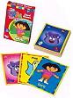 Dora the Explorer Games, dora card game, dora dominoes, dora number game, dora cards