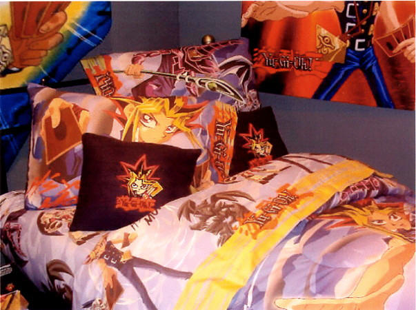 Yu-Gi-Oh Bedding, yugioh bedding, yu-gi-oh bedroom, yugioh bedroom, bedroom decorations,  Comforters, Sheets, Blankets, Bed skirts, Pillowcase, Pillow, Throw Pillows,  Valance, Drapes and more accessories Yu-Gi-Oh Bedroom Decorations